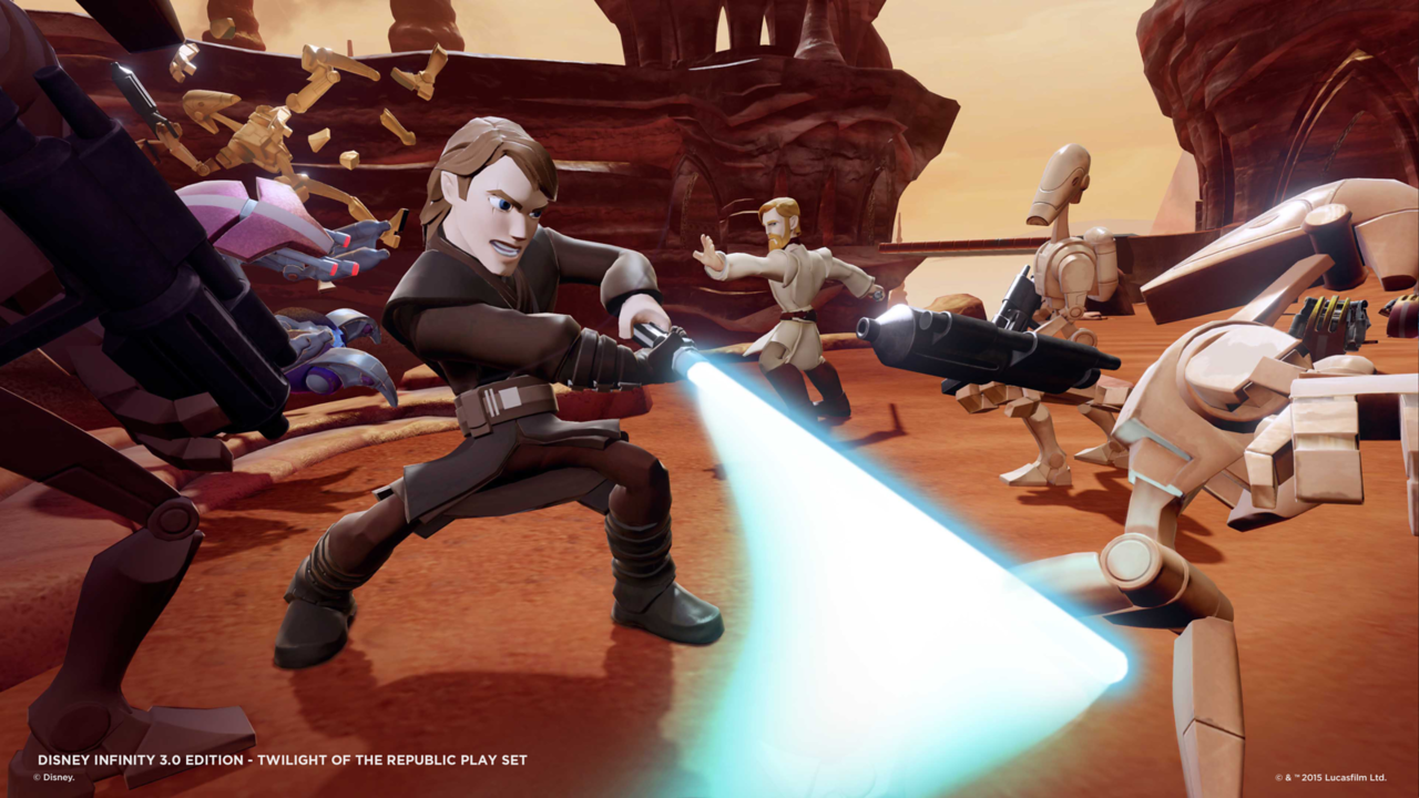 Disney Infinity 3 0 Star Wars Twilight Of The Republic