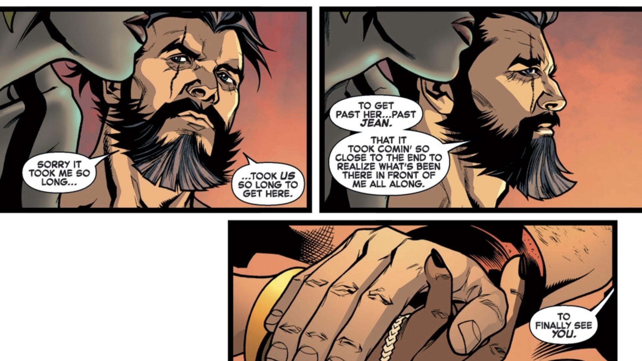 Relationship wolverine storm ROLO Wolverine