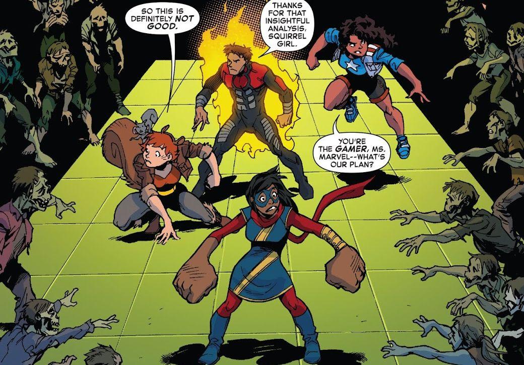 Marvel Marvel Rising Ms Marvel Squirrel Girl #1 Variant Comic Book 2018