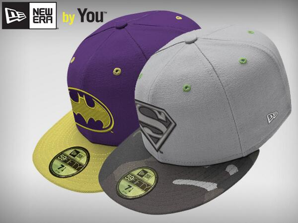 New Era has been hooking up super hero fans with a wide range of  baseball-style caps for some time. Now the hat-making goliath is allowing  you to help ... 3bf0e35dce16