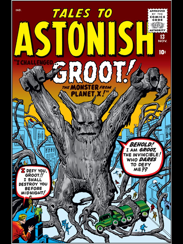 GOTG: First Appearance of Groot-Retro Review