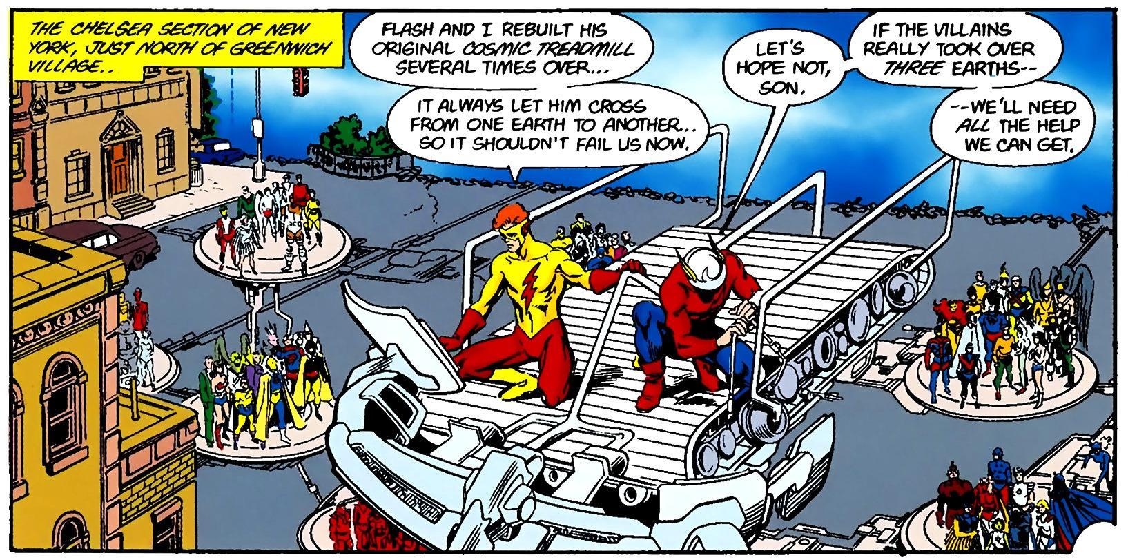 Flash's Cosmic Treadmill