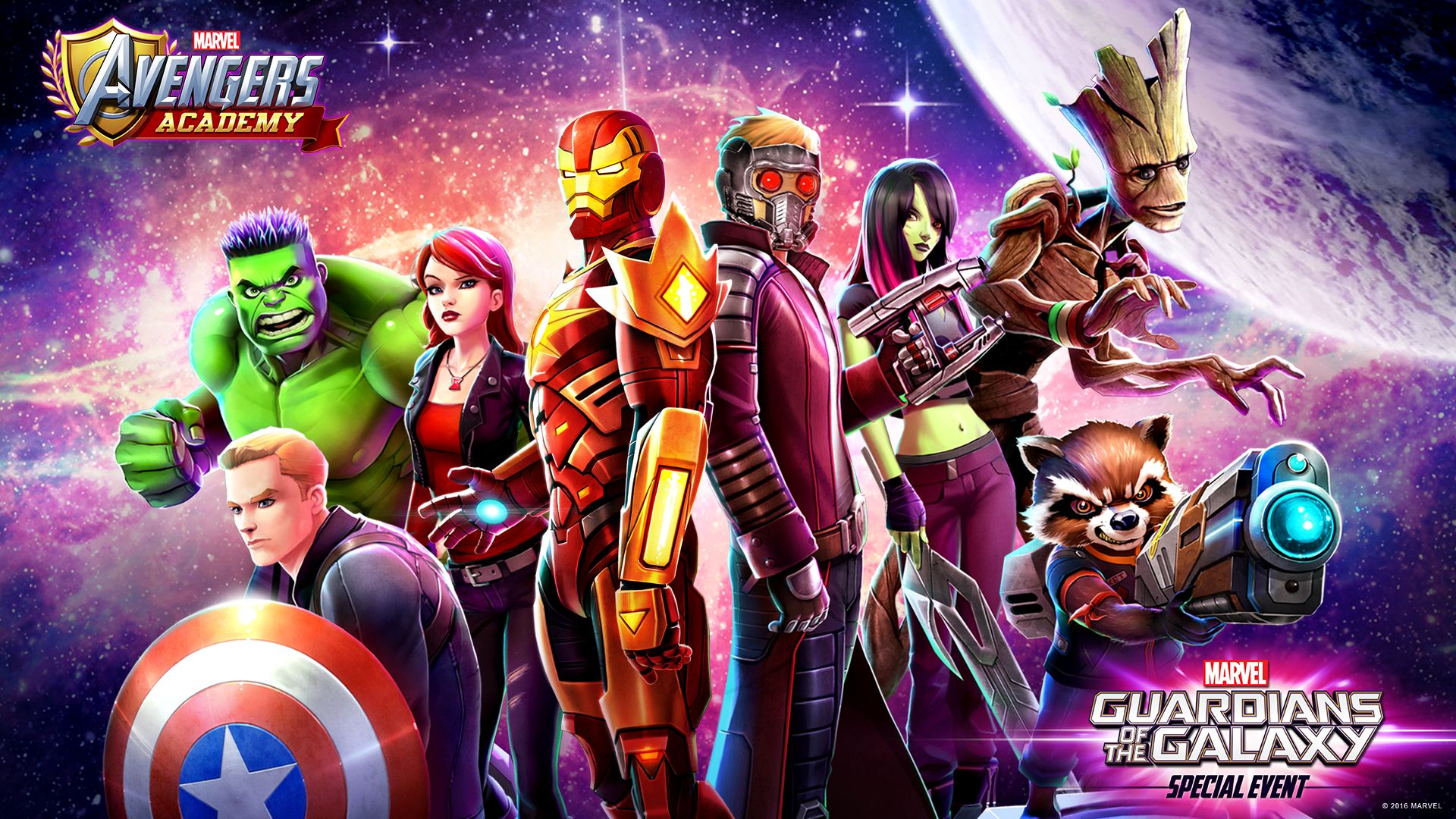 Marvel Avengers Academy: Guardians Of The Galaxy Arrive