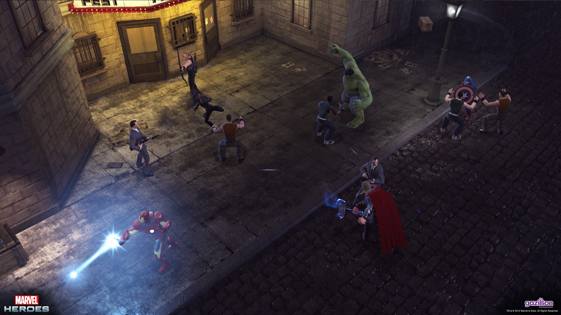 Marvel Heroes  Hell S Kitchen Mobs