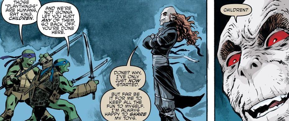 Teenage Mutant Ninja Turtles #84 Review: Wrath of the Rat King