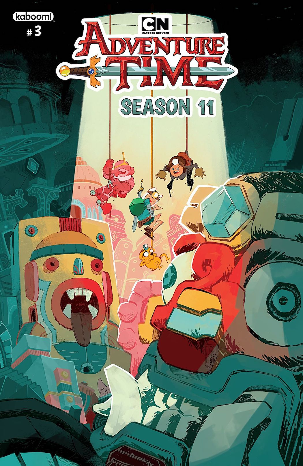 30a2c623908d8d Adventure Time Season 11 cover by Jorge Corona (Credit Cartoon Network)