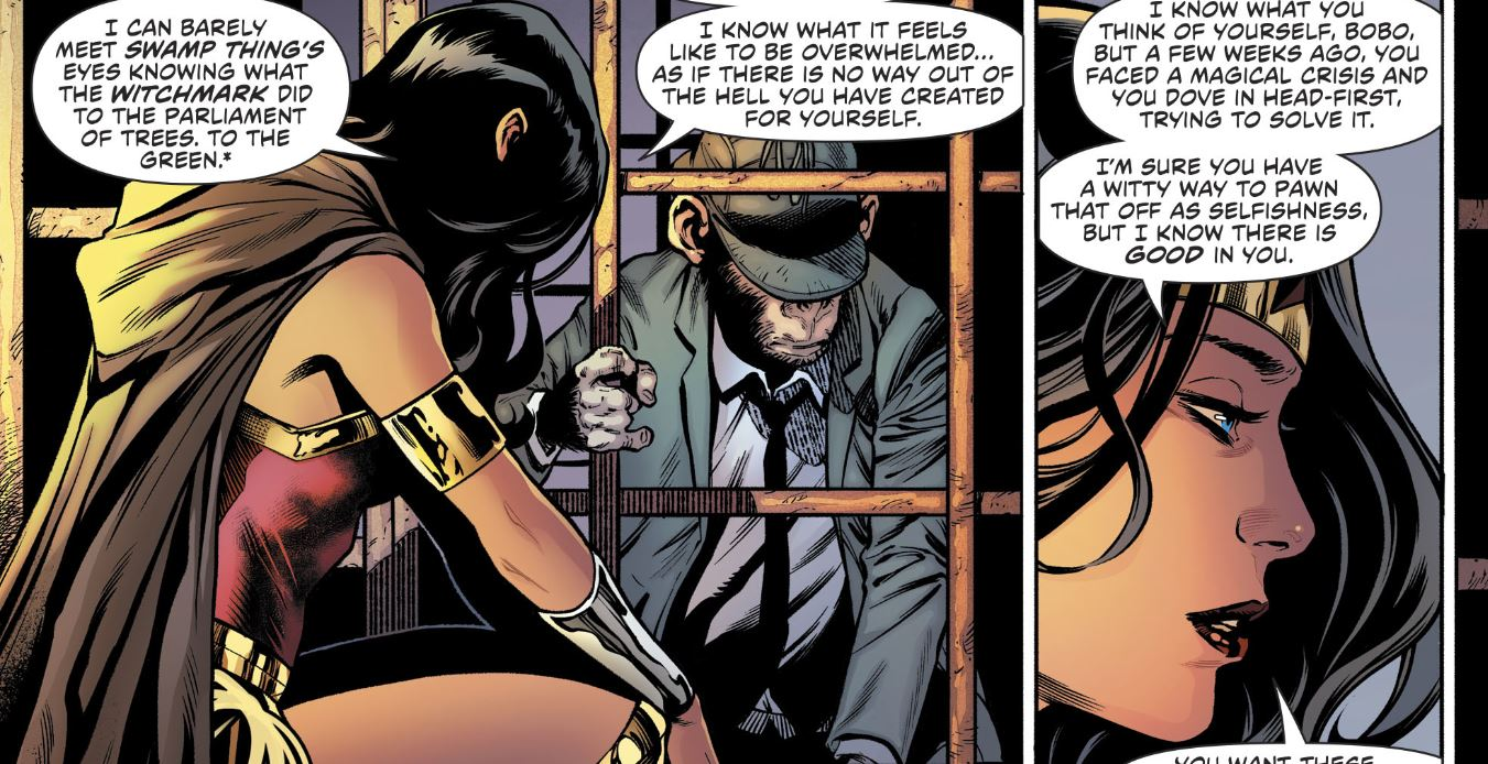 Justice League Dark No  6 review: The chimpanzee needs a drink