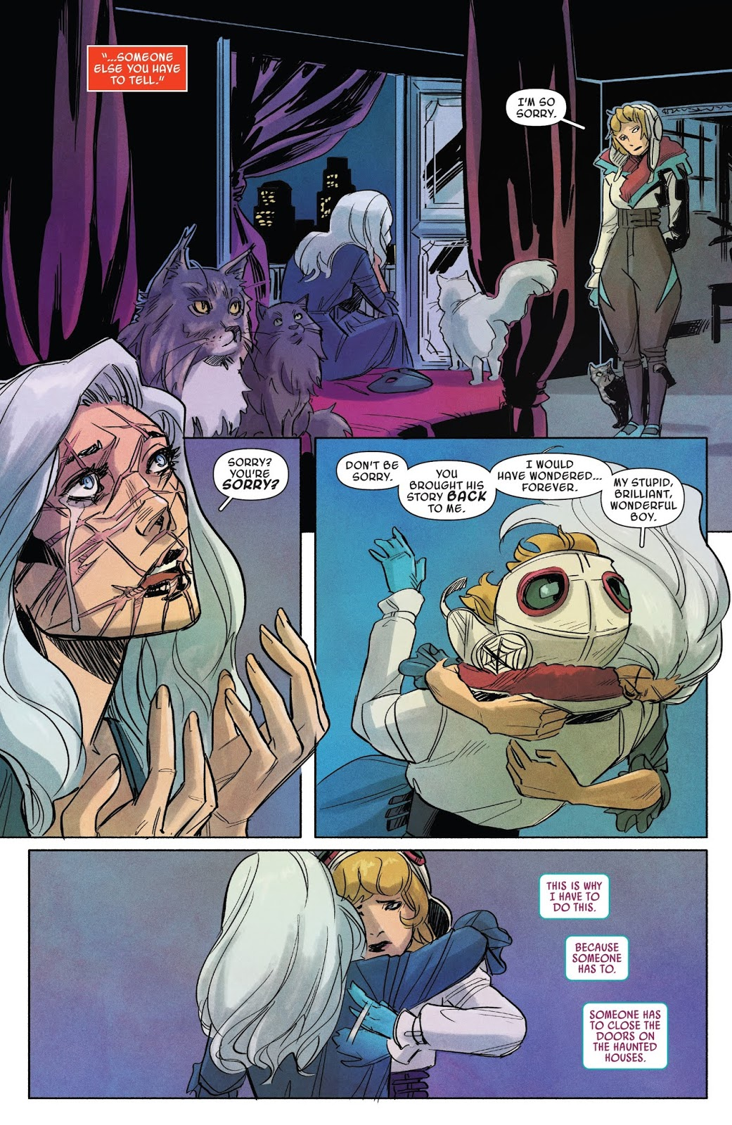 Spider gwen ghost spider no 4 review and recap - Best spider man noir comics ...