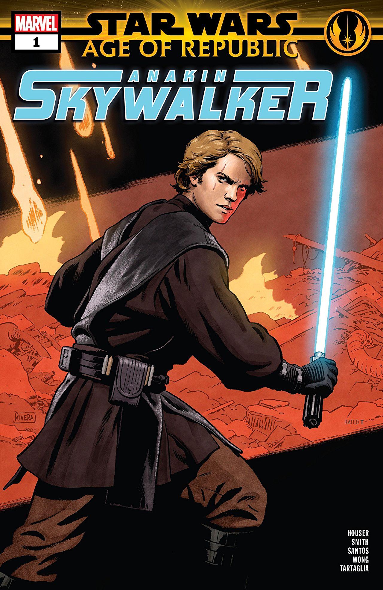 Star Wars: Age Of The Republic: Anakin Skywalker (2019) No ...