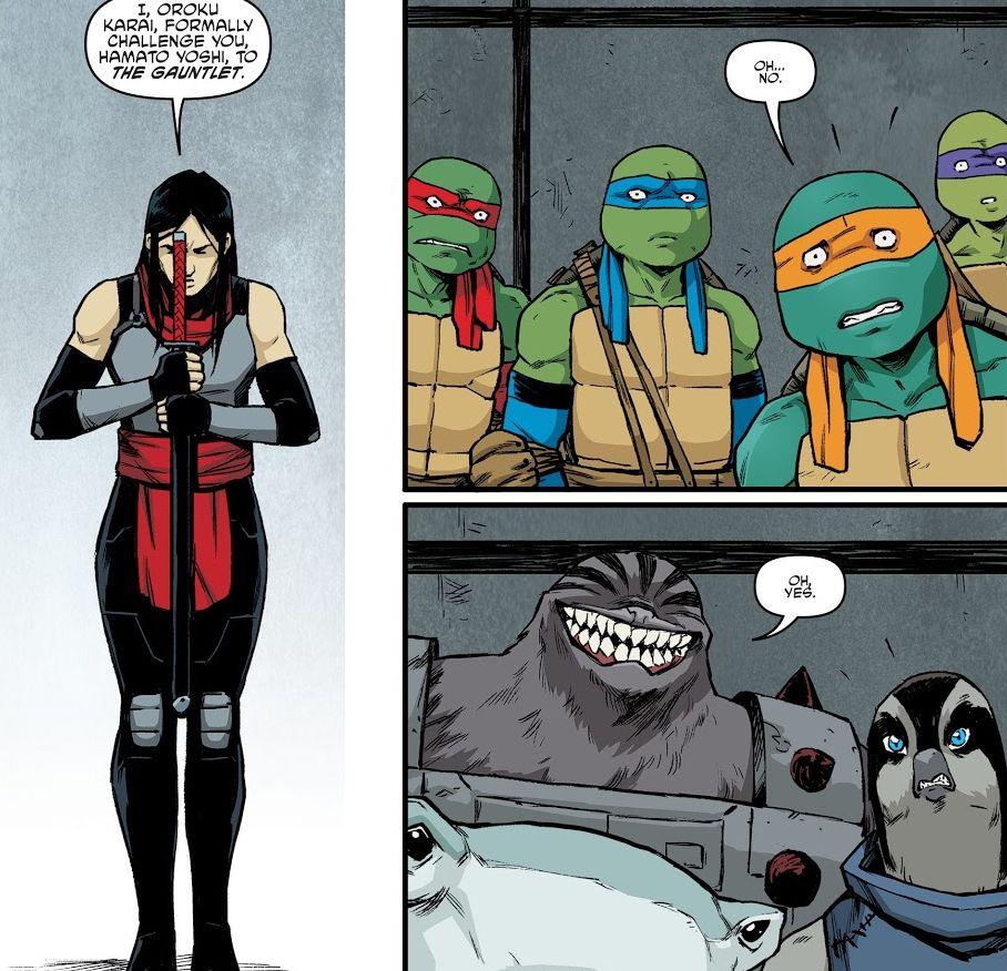 Teenage Mutant Ninja Turtles No. 92 Review: A Foot Clan