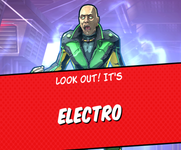 Spider man unlimited electro