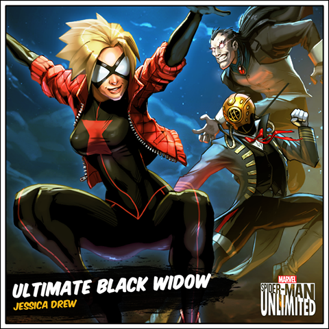 Ultimate Spider Man Black Widow Ultimate Spider-Woman ...